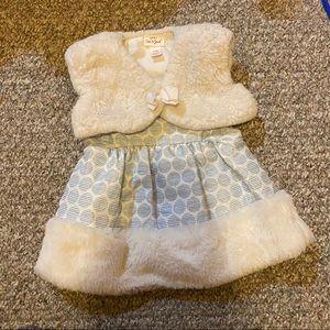 0-3 Months Baby Girl Princess Dress Set  🍼